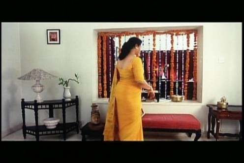 south indian actress hot back view show