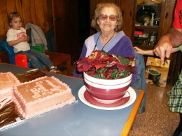 Mama at her 72nd birthday party!