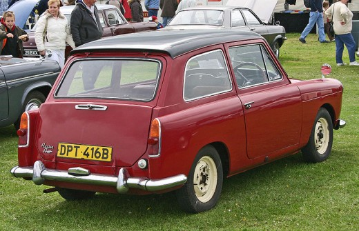 Courtesy of Wikipedia Ref: http://commons.wikimedia.org/wiki/File:Austin_A40_MkII_Countryman_rear.jpg
