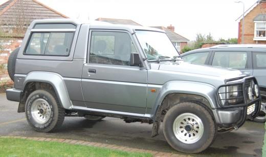 Daihatsu 4Track - circa 2001