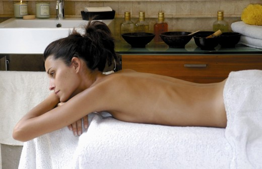 Camphor Oil Body Massage