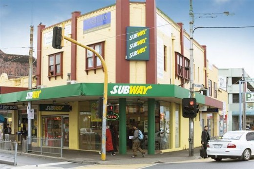Certain fast food restaurants like Subway and Moe's offer simple solutions to help raise funds.
