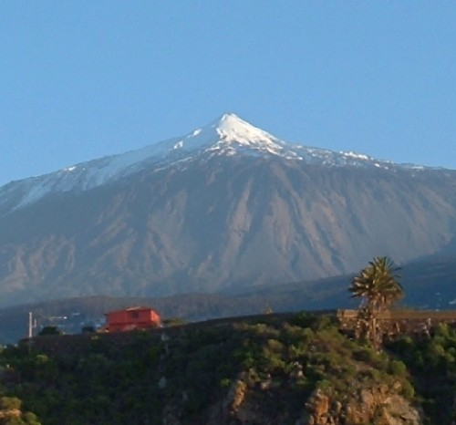 Mt Teide where UFOs have been seen
