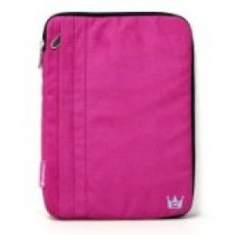 CaseCrown pink faux-leather case