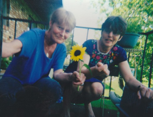 My mother and her best friend twenty years later