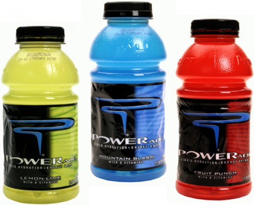 Powerade Sports Drinks Various Flavors