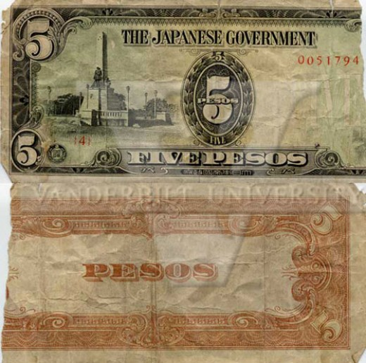 Value of Old Currency from The Philippine Islands