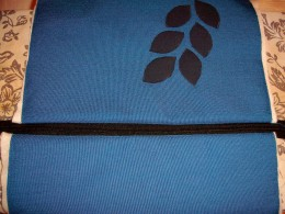 Here's what it will look like if you've sewed the zipper on correctly, no seams visible from the top or the bottom.