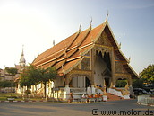 A temple in Chiang Mai, Northern Thailand
