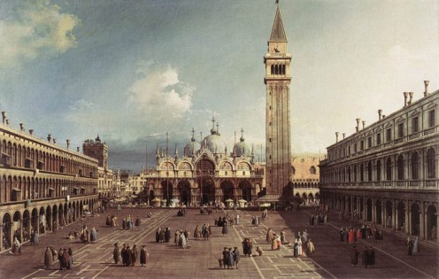 Canaletto, Scenic Locations