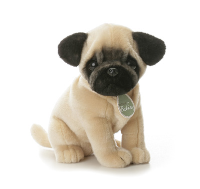 Pug Stuffed Animal Toy