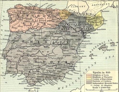 'Spain' 910