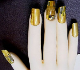 Klimpt Nail Art by Poppo Factory