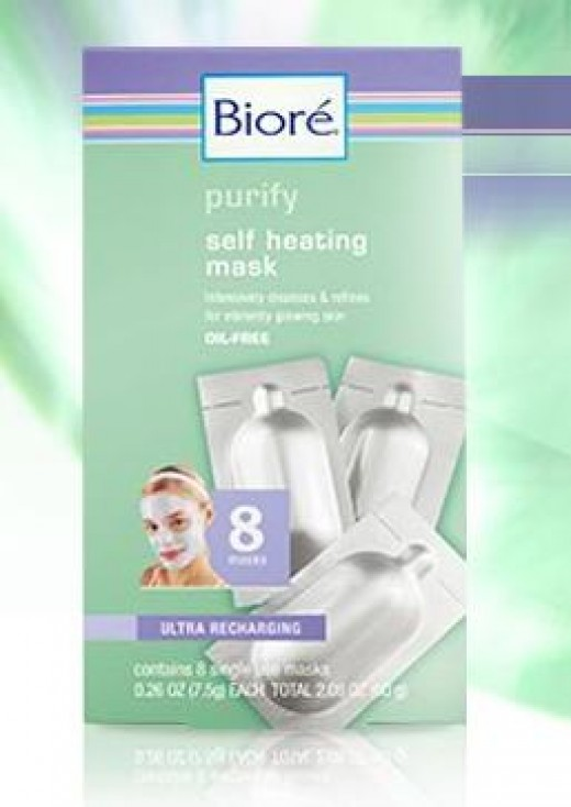 Biore Self Heating Best Face Mask 2013