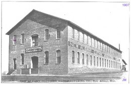 1907 New Albany Shirt Factory