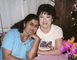Me and my sister Irma