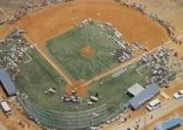 Aerial view of New Albany Sportsplex