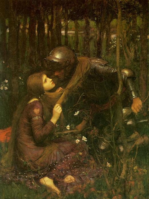 The painting by John William Waterhouse (1893)