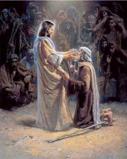 Jesus sees me