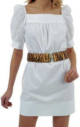Broderie Anglaise on the sleeves from thefashionpolice.net