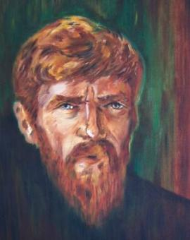 A PORTRAIT OF D.H. LAWRENCE  FROM THE  MIKE BOLDT GALLERY