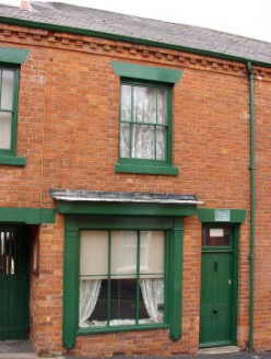 D.H. LAWRENCE'S BIRTHPLACE IN  EASTWOOD, NOTTINGHAMSHIRE