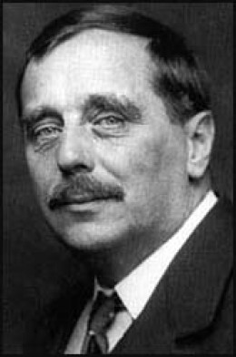 Herbert George Wells (1866-1946) British author