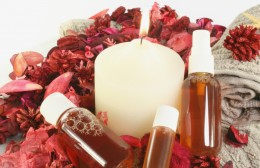 Soothing oils of aromatherapy