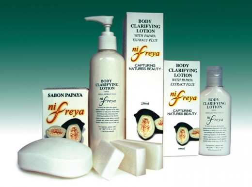 Papaya Skin Care Products - Natural Skin Whitening Creams