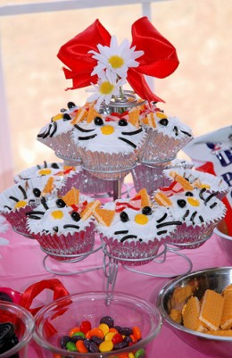 Hello Kitty Cupcakes Flickr MyMollyPop