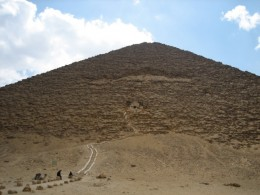 The Red Pyramid at Dashur