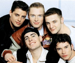 Irish Boy Bands Boyzone and Westlife
