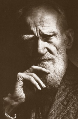 George Bernard Shaw - photo credit: johnfenzel.typepad.com