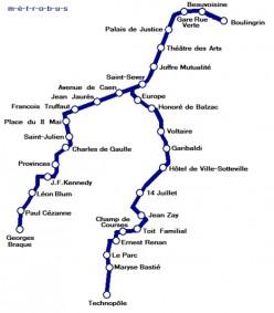 The Metro route