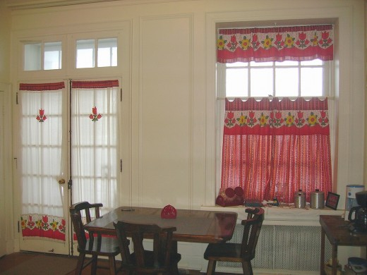 diy idea how to make and sew kitchen curtains from square dance skirts - Kitchen Curtain Ideas Diy