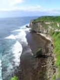 The coast of Bali island