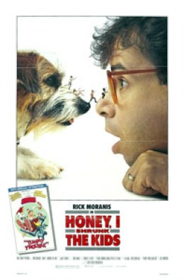 Honey I Shrunk the Kids is a brilliantly imaginative Disney Films.