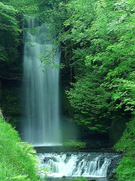 Glencar Waterfall, Ireland.