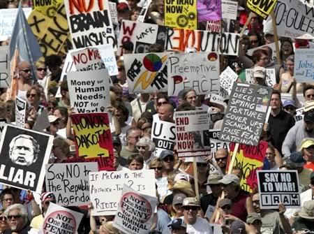 SOCIAL LIBERAL PROTESTORS