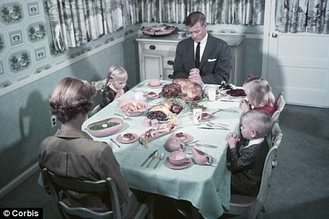 FAMILY DINNER BEFORE THE SEXUAL REVOLUTION