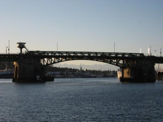 Under the Ballard Bridge