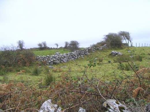 Mortar-less stone walls of The Burren