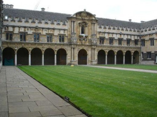 St. John's College Oxford University - I studied here