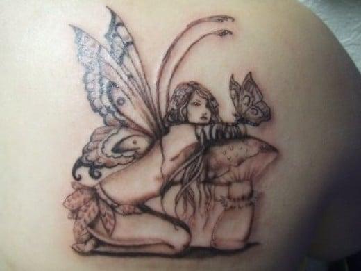 Tatuagens de fadas tatuagens lindas for Sexy fairy tattoos