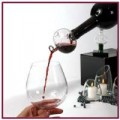 Soiree bottle-top decanting wine aerator