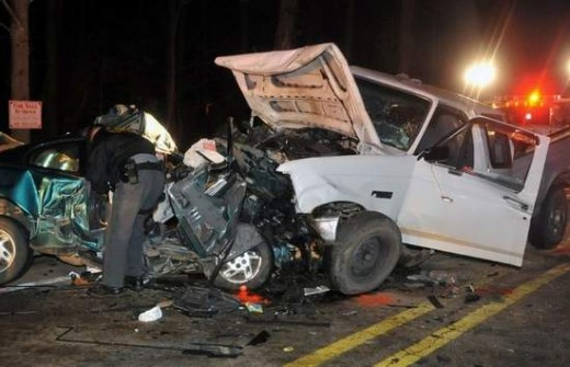 Both my neice 19 and my brothers girlfriend 31, lost their lives in this accident. It occured on Monday night at 7 pm.