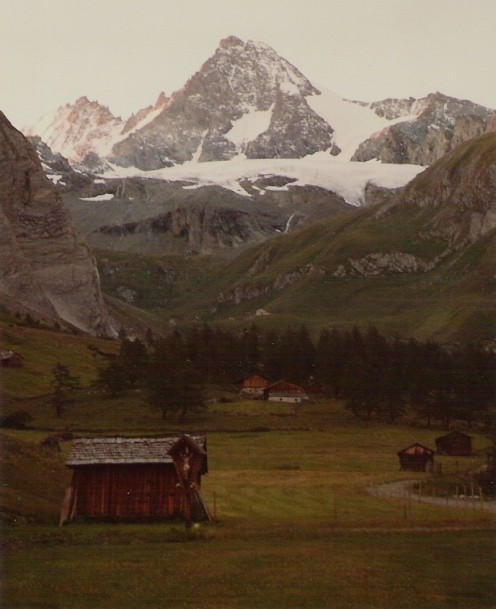 The south face of Grossglockner from the Lucknerhaus.