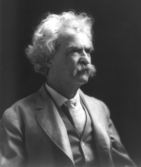 Mark Twain (1835-1910) nom de plume of Samuel Langhorne Clemens, American author and humorist