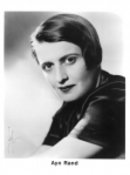 Ayn Rand (1905-1982) Russian-American novelist, philosopher, playwright, and screenwriter