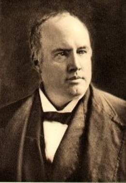 Colonel Robert Green Ingersoll (1833-1899) Civil War veteran, American political leader, and orator